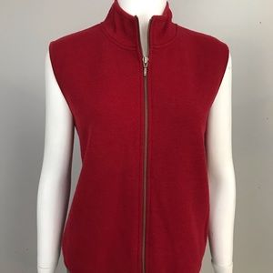 Woolrich Red Sweater Vest Large
